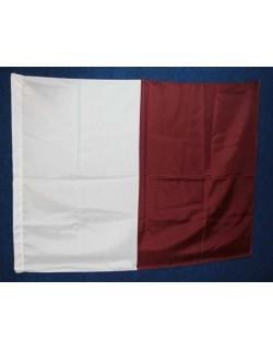 image: Bandiera bande biancogranata