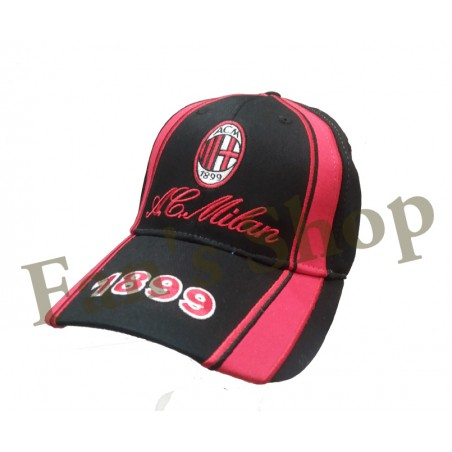 Cappello Ufficiale Milan con visiera 7b74b4aae041