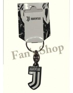 Portachiavi Juventus metallo logo nuovo