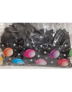 Palloncini in lattice colore Nero