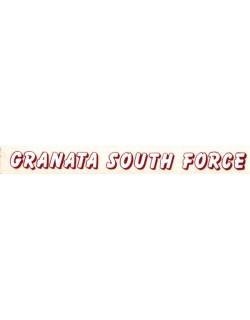 Adesivo Salernitana Granata South Force striscetta
