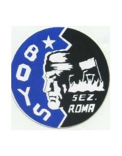 Adesivo Boys San Inter sezione Roma con indiano