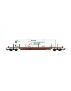 Carro Merci FS, Pianale con Container Frigo CEMAT