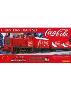 Start set Treno Natalizio Coca Cola Hornby scala 00 R1233