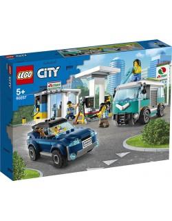 STAZIONE DI SERVIZIO LEGO CITY 60257