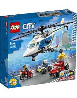 INSEGUIMENTO SULL'ELICOTTERO DELLA POLIZIA LEGO CITY 60243