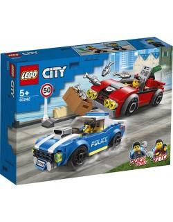 ARRESTO SU STRADA DELLA POLIZIA LEGO CITY 60242