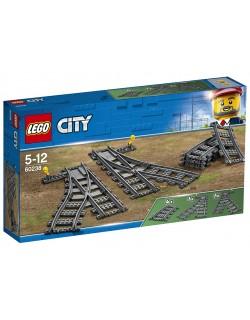 SCAMBI FERROVIARI LEGO CITY 60238