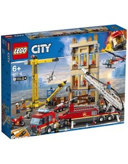MISSIONE ANTINCENDIO IN CITTA' LEGO CITY 60216