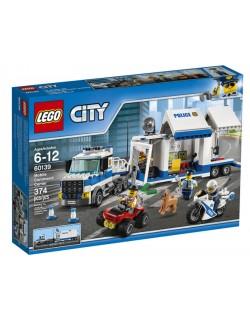 POLIZIA CENTRO COMANDO MOBILE LEGO CITY 60139