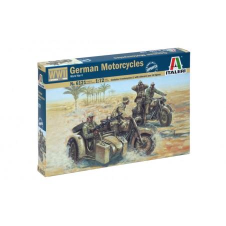 GERMAN MOTORCYCLES ITALERI 6121