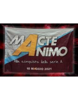 BANDIERA MACTE ANIMO SALERNITANA