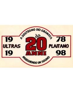 image: Adesivo Ultras Plaitano Salernitana ventennale