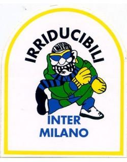image: Adesivo Irriducibili Inter bianco