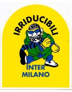 image: Adesivo Irriducibili Inter giallo