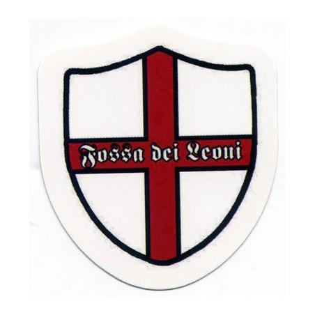 image: Adesivo Fossa dei Leoni Milan scudettino