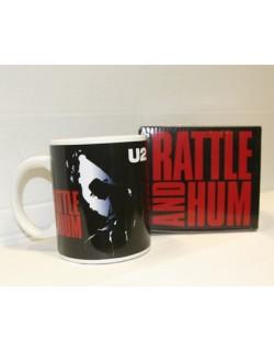 "image: U2 ""rattle and hum"" tazza ufficiale"