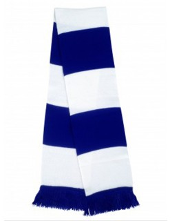 image: Sciarpa a bande biancoazzurra