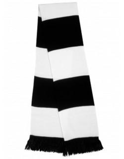 image: Sciarpa a bande bianconera