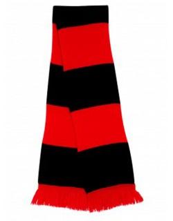 image: Sciarpa a bande rossonera