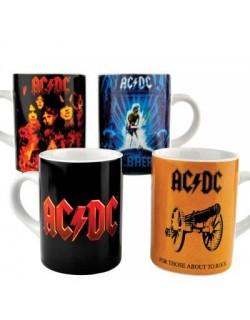 image: AC/DC set 4 tazzine caffè