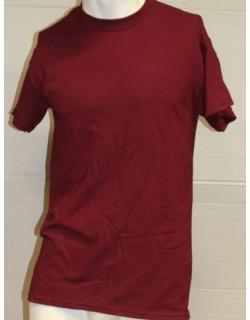 image: T-shirt girocollo granata M