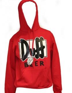 image: Duff felpa rossa M
