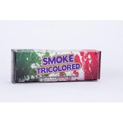 Fumogeno tricolore a miccia durata di circa 60 secondi