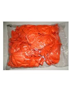 Palloncini gonfiabili tondi colore arancione
