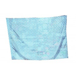 image: Bandiera scacchi biancoazzurri