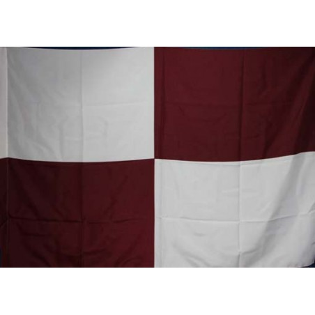 image: Bandiera scacchi biancogranata