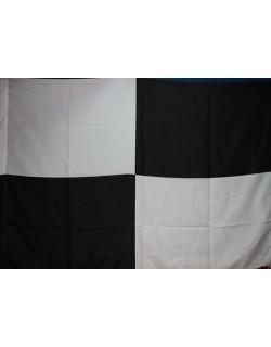 image: Bandiera scacchi bianconera