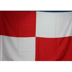 image: Bandiera scacchi biancorossa