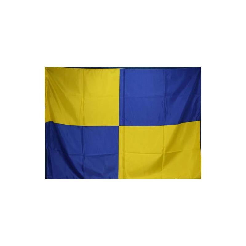 image: Bandiera scacchi gialloblu