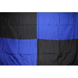 image: Bandiera scacchi neroblu