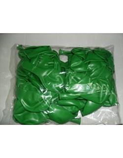 Palloncini in lattice tondi di colore verde