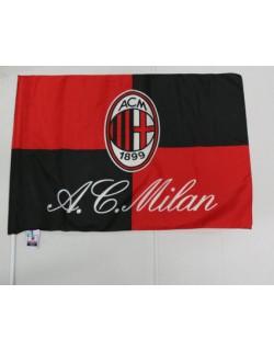 Milan Bandiera con asta