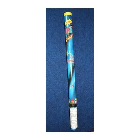 image: Tubo spara coriandoli cm 80