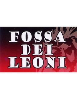 image: Adesivo Fossa dei Leoni Milan con leone sfumato
