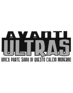 "image: Adesivo ""Avanti Ultras"" Fondo bianco"